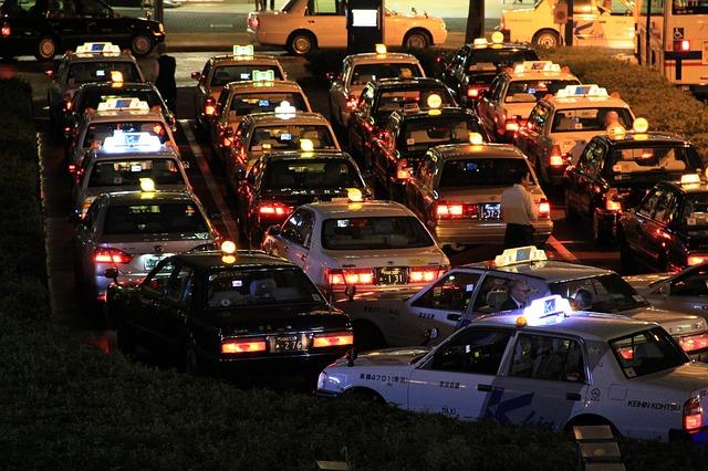 Работа Киевских такси в период карантина