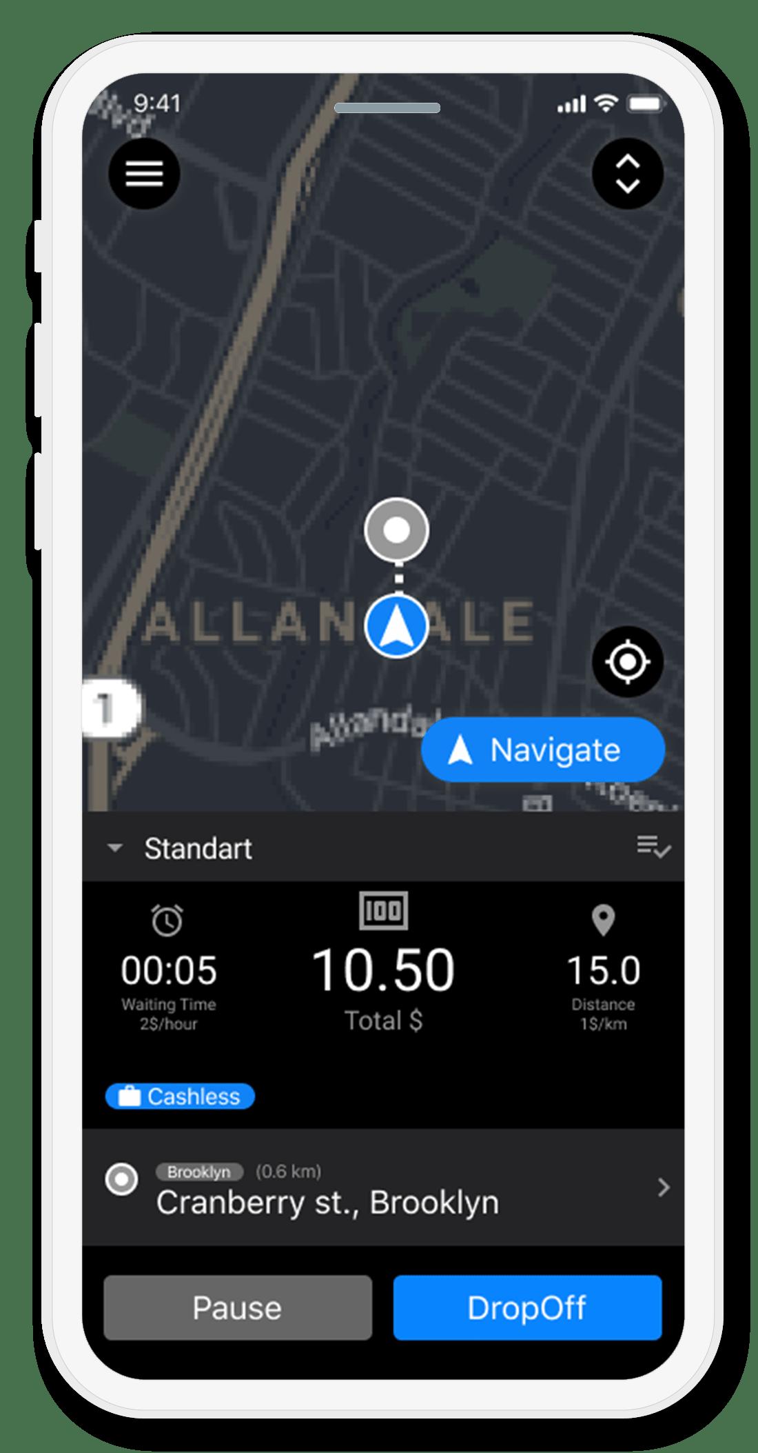GPS Таксометр